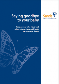 stillbirth, neonatal, death, Saying Goodbye, Baby