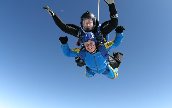 Skydive 'Jump in July'