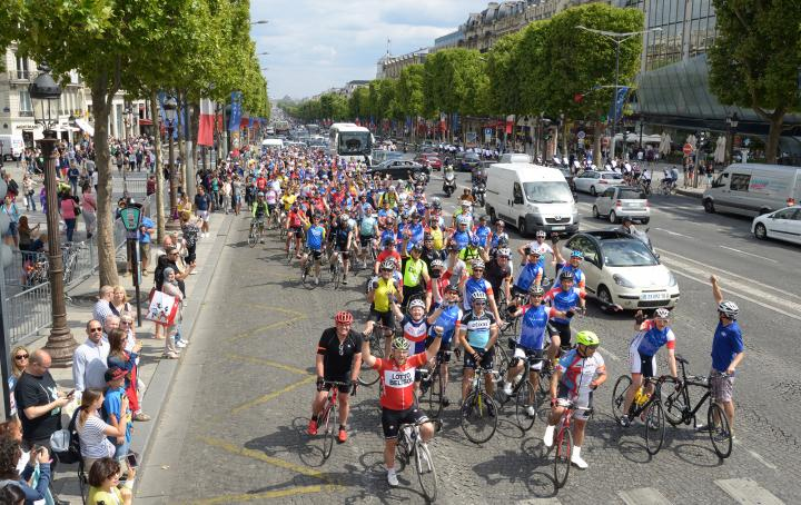 London 2 Paris cycle